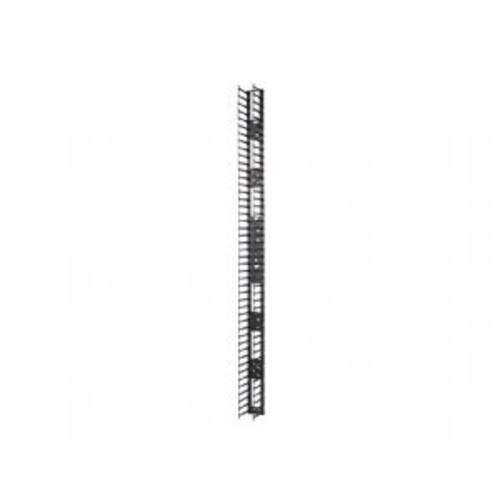 APC - Rack cable management kit (vertical) - black - 48U (pack of 2 ) - for NetShelter SX (AR7588)