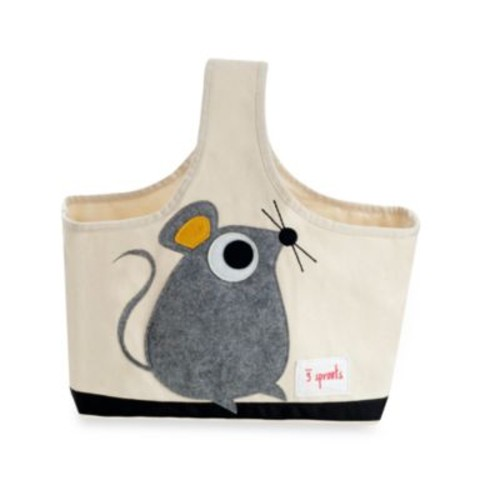 3 Sprouts Caddy Tote in Mouse