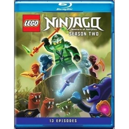 Lego Ninjago-Masters of Spinjitzu-Season 2 (Blu-ray)