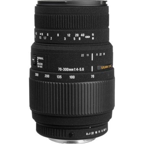Sigma 70-300mm f4-5.6 DG Macro Tele Zoom Lens for Sigma AF #509110 -USA 509110