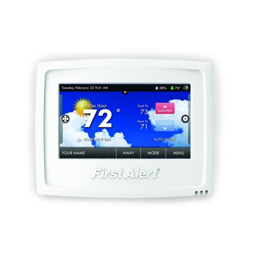 First Alert Onelink Wi-Fi Programmable Touchscreen Thermostat