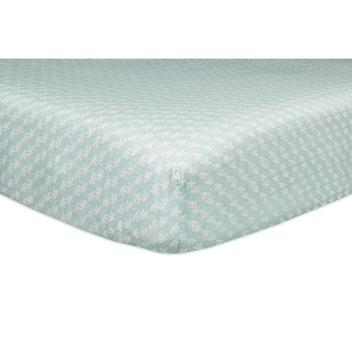 Babyletto Fleeting Flora Fitted Mini Crib Sheet