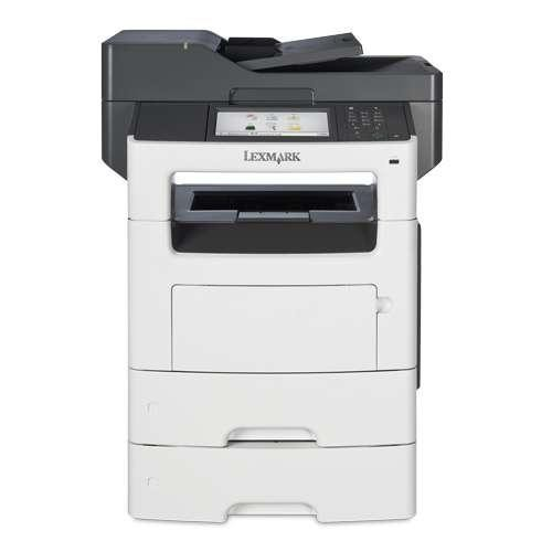 Lexmark MX611dte 35S6800 MultiFunction Printer - Monochrome Laser, 1200 x 1200 dpi, 50 ppm, Duplex Printing, Dual-Core 8