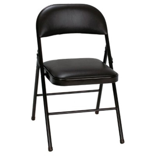 Vinyl Folding Chair - (Set of 4) - Cosco
