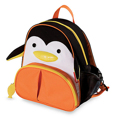 SKIP*HOP Zoo Packs Little Kid Backpacks in Penguin