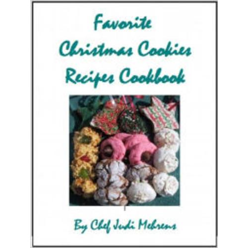 Favorite Christmas Cookies Recipes Cookbook