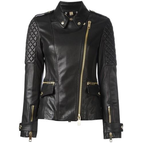 BURBERRY 'Remmington' Biker Jacket