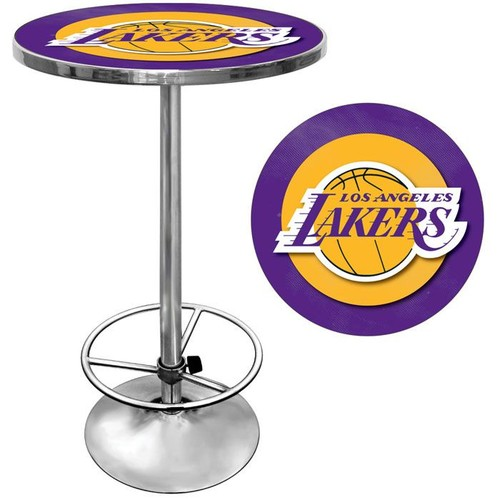 NBA(CANONICAL) Los Angeles Lakers Chrome Pub Table