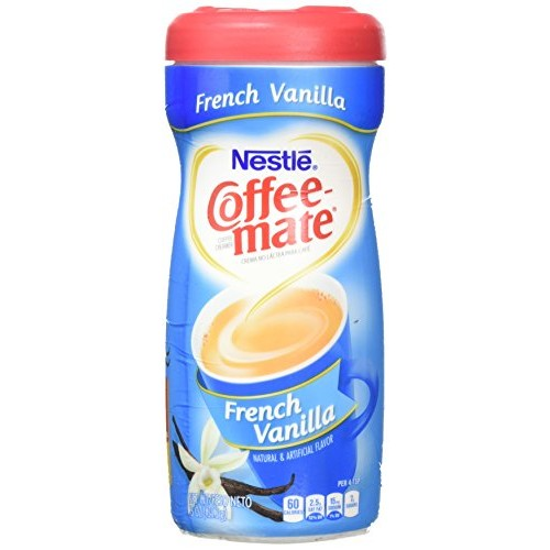 NESTLE COFFEE-MATE COFFEE-MATE French Vanilla Powder Coffee Creamer 15 oz. Canister, 6 oz