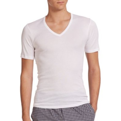 Cotton Pure V-Neck Tee