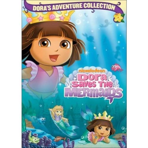 Dora the Explorer: Dora Saves the Mermaids (Dora's Adventure Collection) (dvd_video)