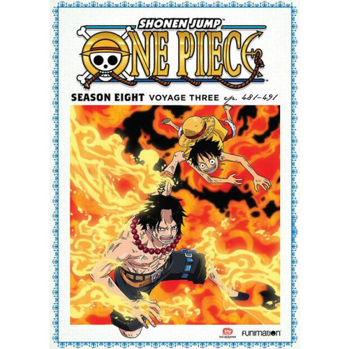 One Piece: Season Eight: Voyage Three (DVD)