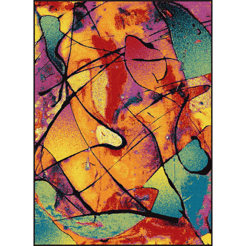 Symphony Lyric Abstract Area Rug - 7'10'' x 10'3''