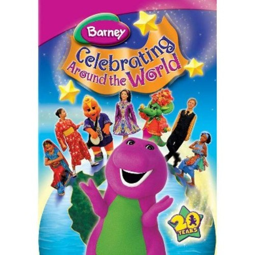 Barney:Celebrating around the world (DVD)