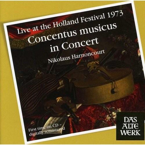 Concentus Musicus In Concert - CD