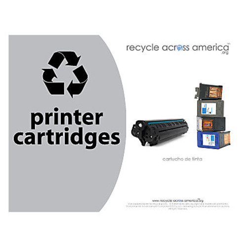 Recycle Across America Ink And Toner Cartridges Standardized Recycling Labels, 8 1/2