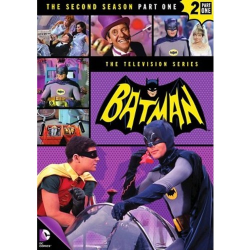 Batman: The Second Season, Part One (4 Discs) (dvd_video)