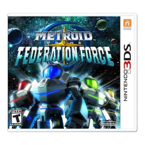 Nintendo METROID Prime Federation Force 3DS - Email Delivery