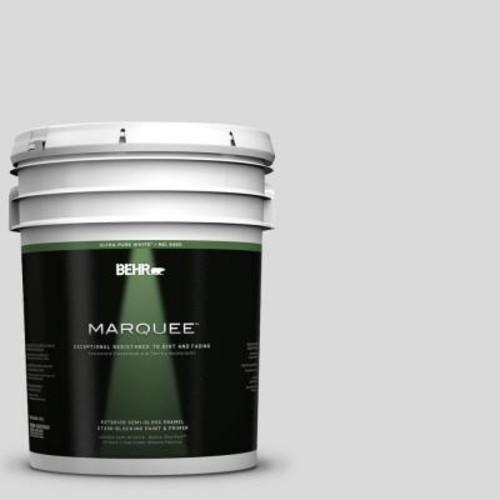 BEHR MARQUEE 5-gal. #790E-1 Subtle Touch Semi-Gloss Enamel Exterior Paint
