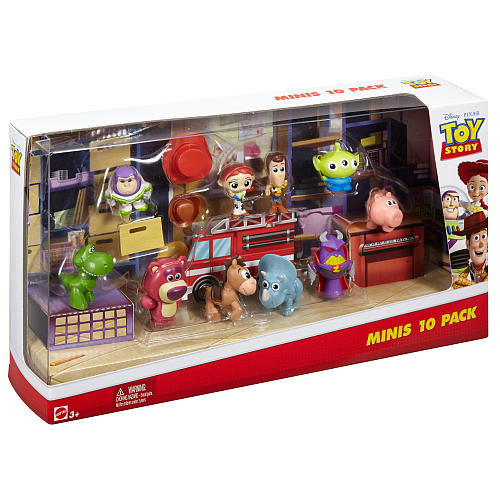 Disney Pixar Toy Story Deluxe Mini Action Figure Set