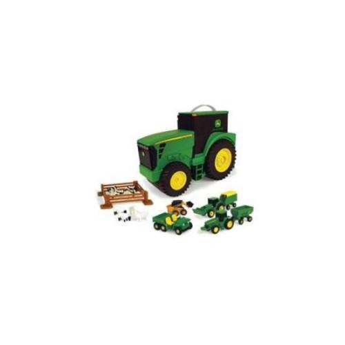 ERTL 35747 John Deere Tractor Carry Case Set