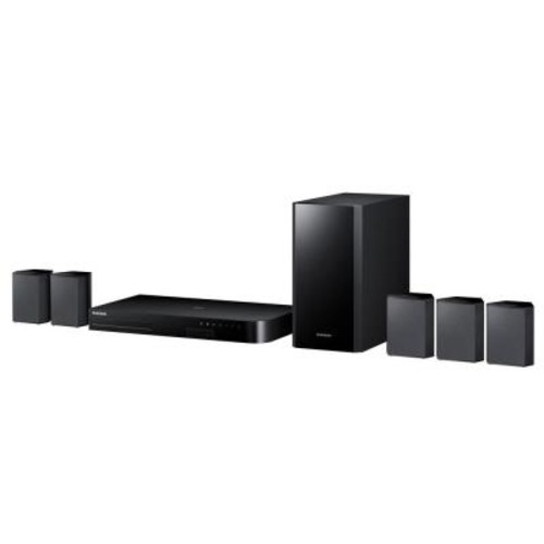 Samsung 5.1-Channel 3D Blu-ray Home Theater System with Streaming Capability