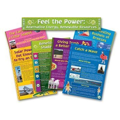 North Star Teacher Resource Alternative Energy Renewable Bulletin Board Set [1]