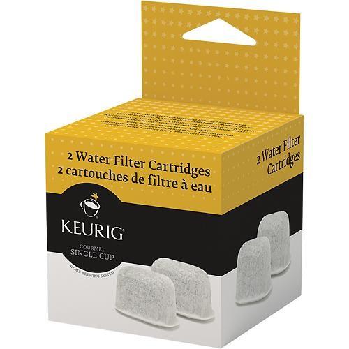 Keurig - Water Filter Replacement Cartridges (2-Pack) - White