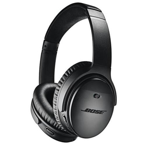 Bose QuietComfort 35 Wireless Headphones II with Mic Black And Bose SoundSport