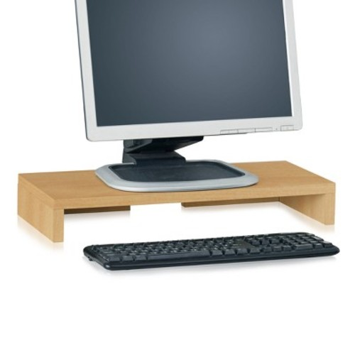 Eco Friendly Monitor Stand Riser Natural - Way Basics