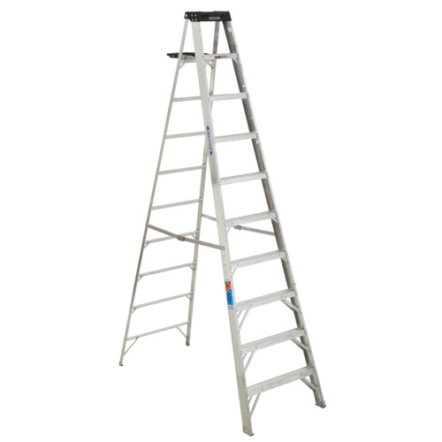 Werner 310 10' Aluminum Step Ladder