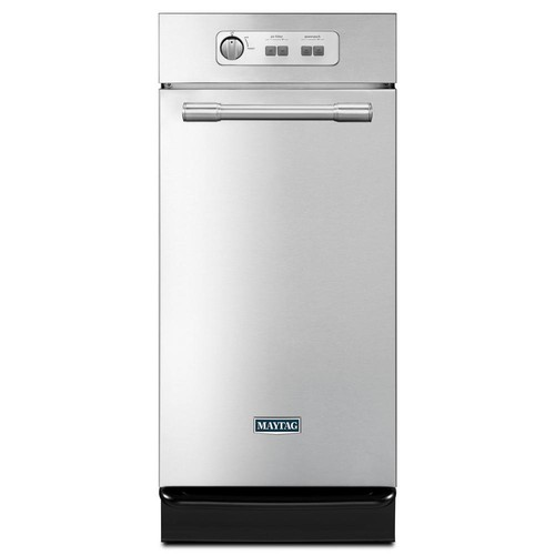 Maytag 15 in. Built-In Trash Compactor in Monochromatic Stainless Steel