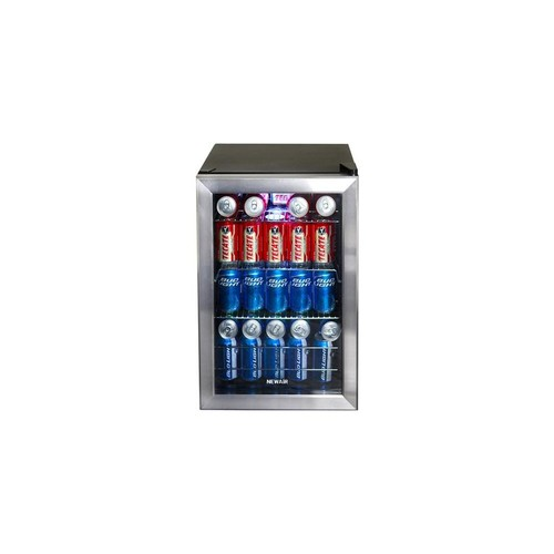 air Appliances Stainless Steel 84-Can Beverage Cooler