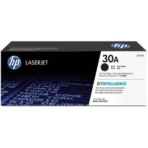 HP 30A Black Original Toner Cartridge for LaserJet Printer, 1600 Pages Yield