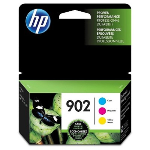 HP 902 Color Ink Cartridge Combo Pack (T0A38AN#140)