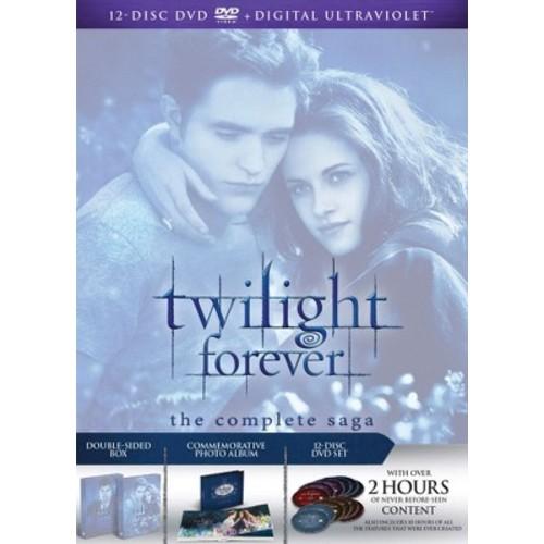 Twilight Forever: The Complete Saga [DVD + Digital]: Kristen Stewart, Robert Pattinson, Taylor Lautner: Movies & TV