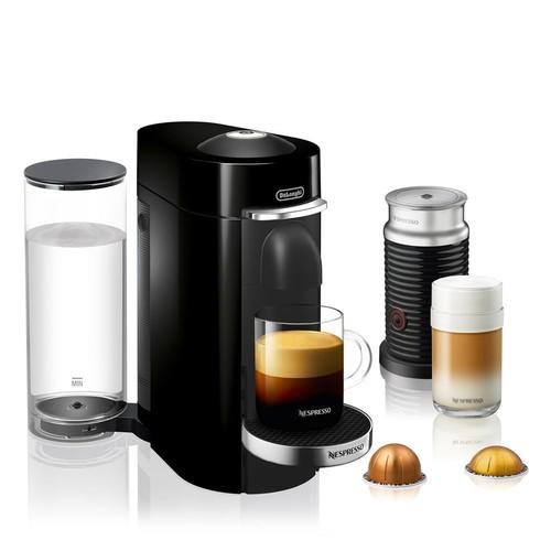 VertuoPlus Deluxe Coffee and Espresso Machine Bundle by De'Longhi