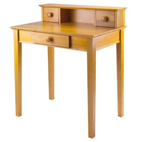 Winsome Wood Writing Desk, Honey