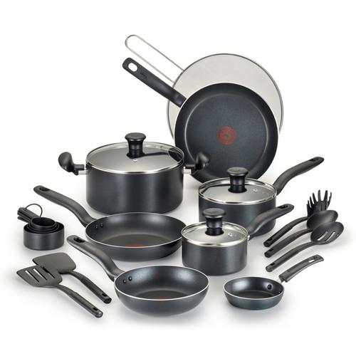 T-Fal Reserve 20-pc. Nonstick Aluminum Cookware Set