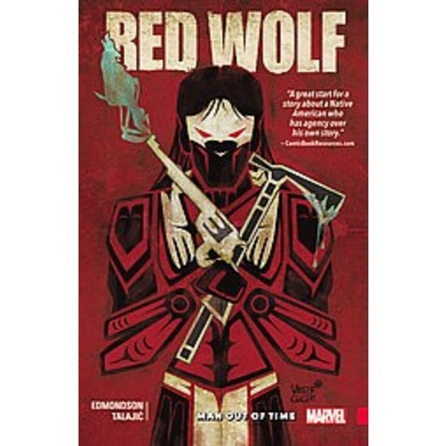 Red Wolf: Man Out of Time (Paperback)