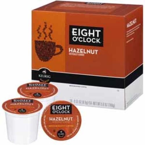 Keurig Eight O'Clock Hazelnut Coffee K-Cups - 18 Count