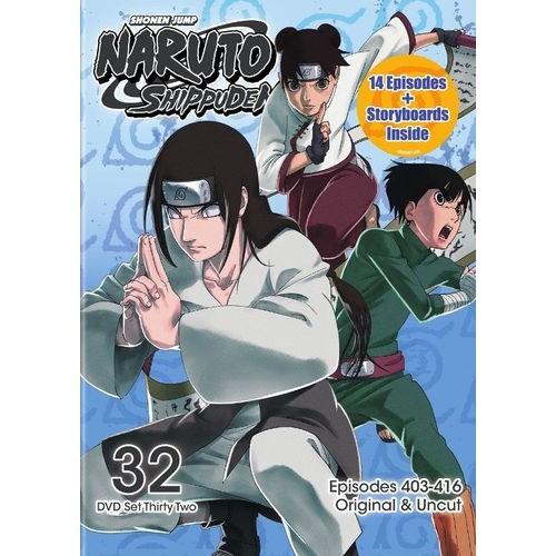 Naruto: Shippuden - Box Set 32 [2 Discs] [DVD]