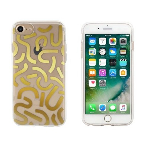 Ashley Mary iPhone 8/7/6s/6 Case - Gold Noodles