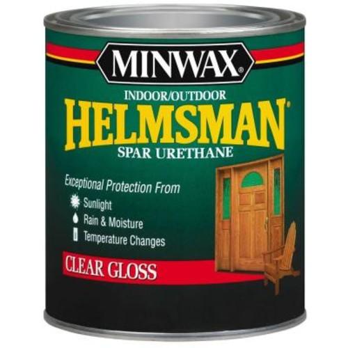 Minwax 1-qt. Clear Gloss Helmsman Indoor/Outdoor Spar Urethane (4-Pack)