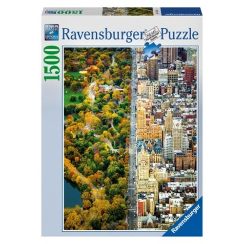 Ravensburger Divided Town Jigsaw Puzzle - 1500-Piece