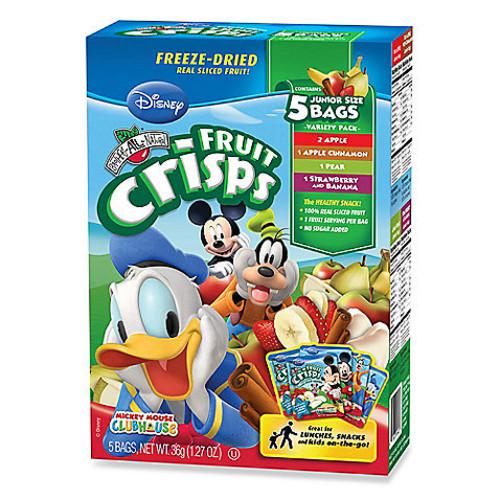 Disney Mickey 5-Pack Variety Fruit Crisps