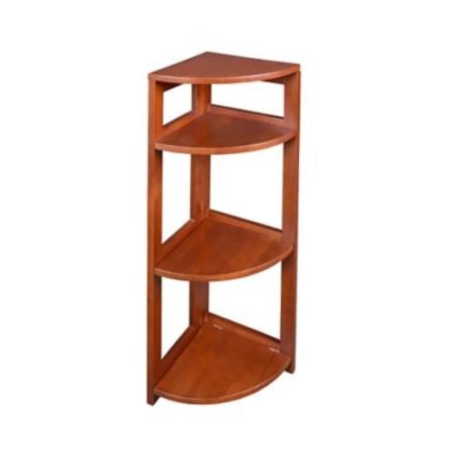 Regency Home Collection 5-Shelf High Corner Folding Bookcase, FFC6712CH