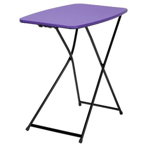 Cosco Purple Adjustable 2-Pack Folding Tailgate Table