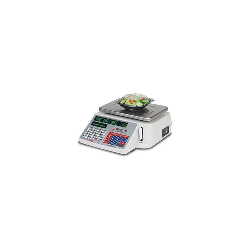 CARDNINJA DL1060 DETECTO SCALES PRICE COMPUTING LABEL PRINTING SCALE DL SERIES 60LB CAPACITY INCLUDES SOFTWARE UTILITY