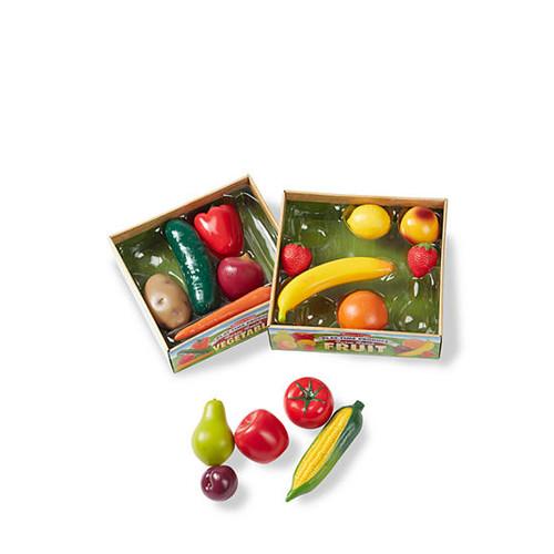 Melissa & Doug Combo Fruit & Veggies Set